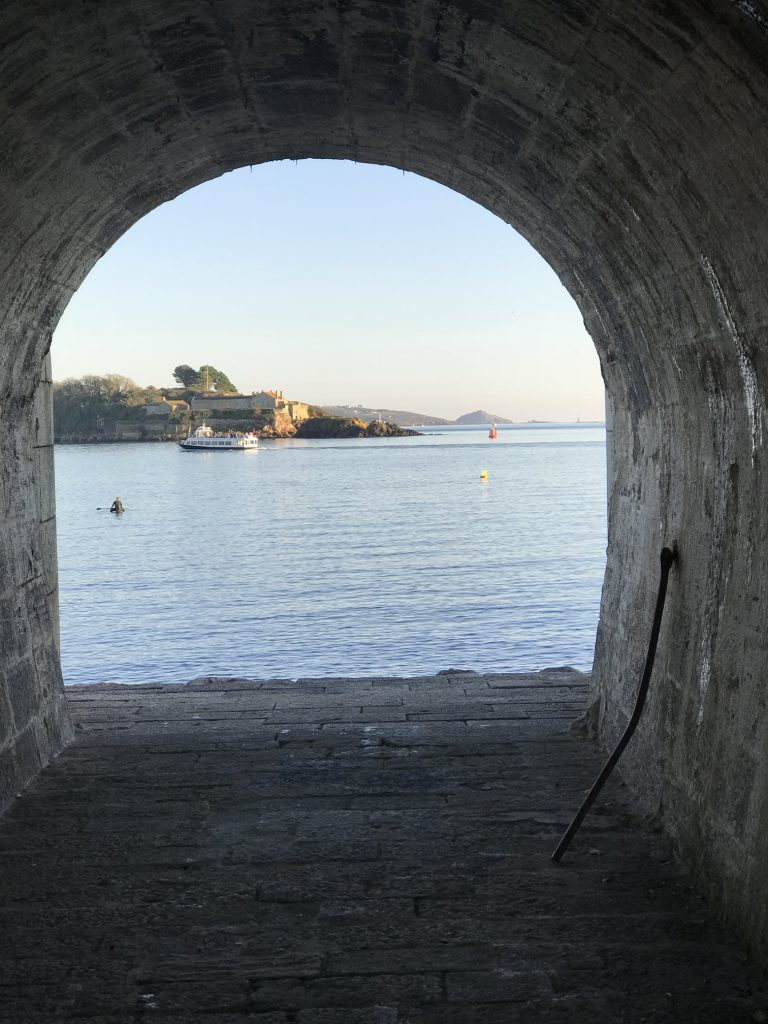 Royal William Yard and the Hole In The Wall